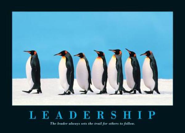 Leadership is about leading well from behind