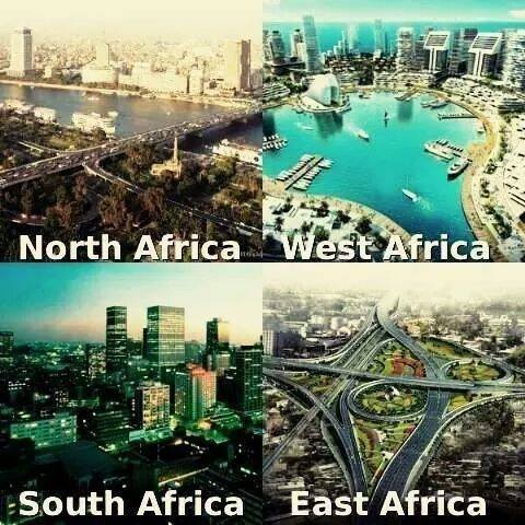 Have you been to South Africa, West Africa, North Africa, or East Africa in the past?